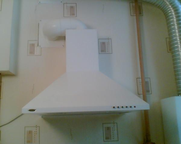 Комплектующие короба для вытяжки для кухни 185