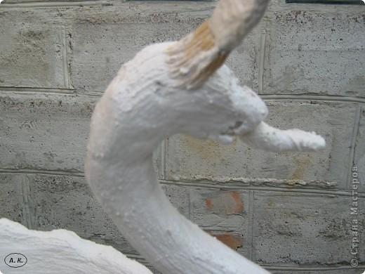 Лебедь своими руками мастер класс