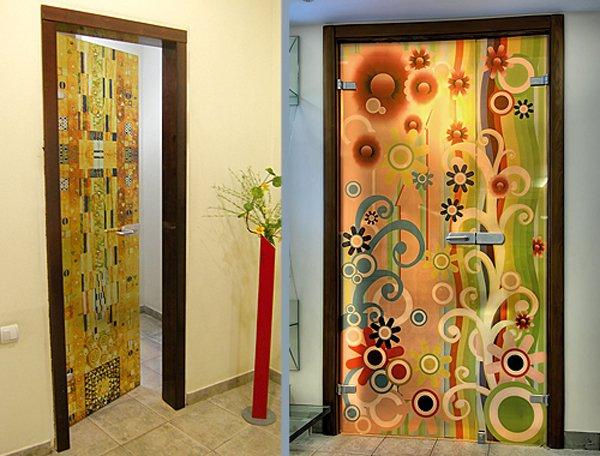 Дизайн дверей своими руками