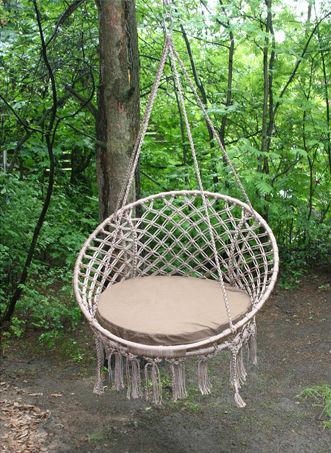 Плетём подвесное кресло