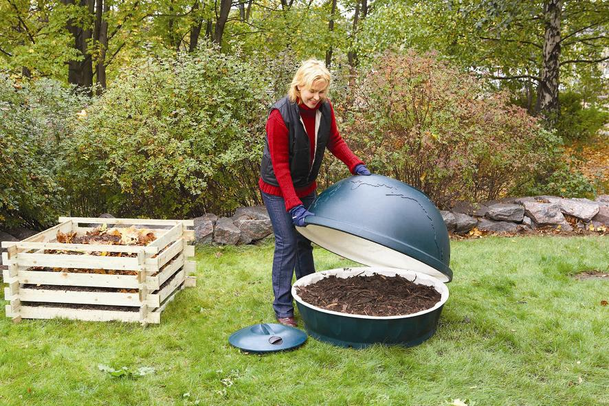 Садовый компостеров своими руками