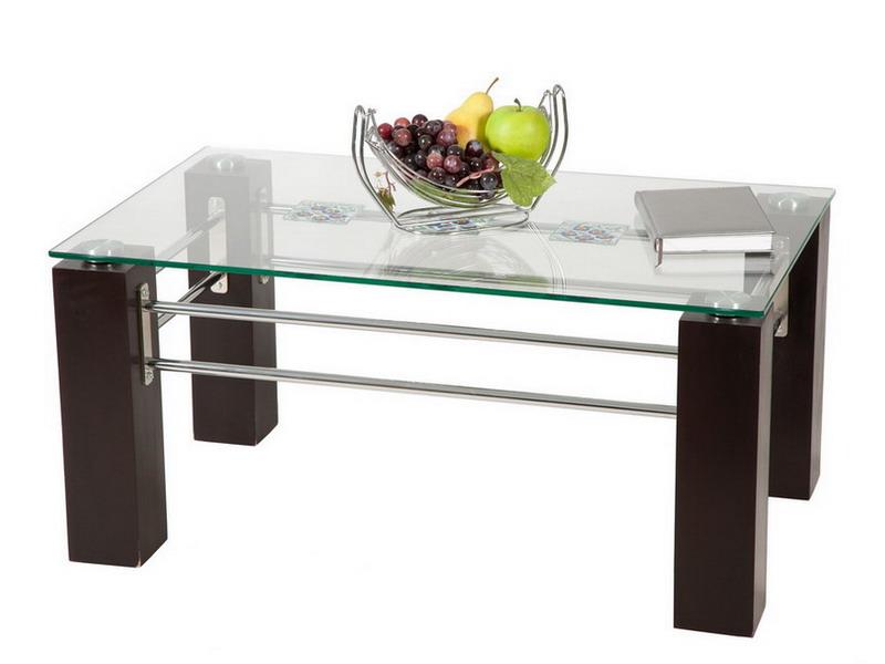 Журнальный столик с стеклом своими руками 147