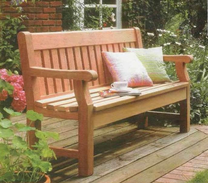 Скамейка своими деревянная руками