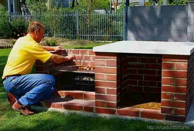 Печка для дачного участка