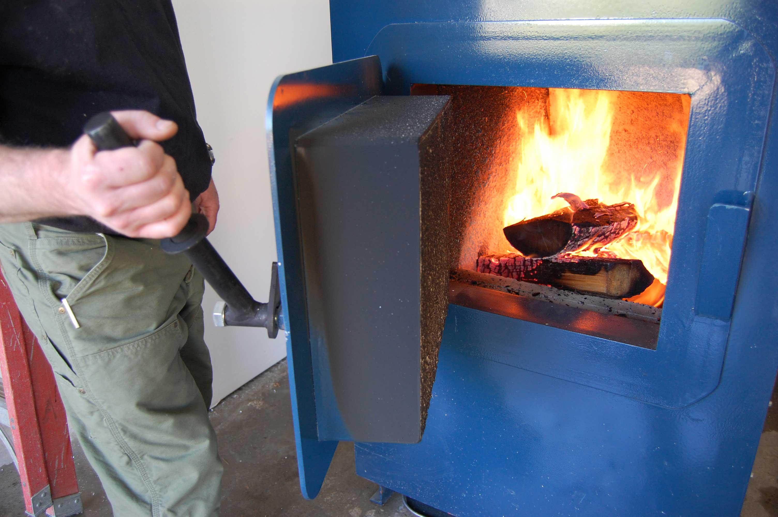 Дровяной котел отопления своими руками фото