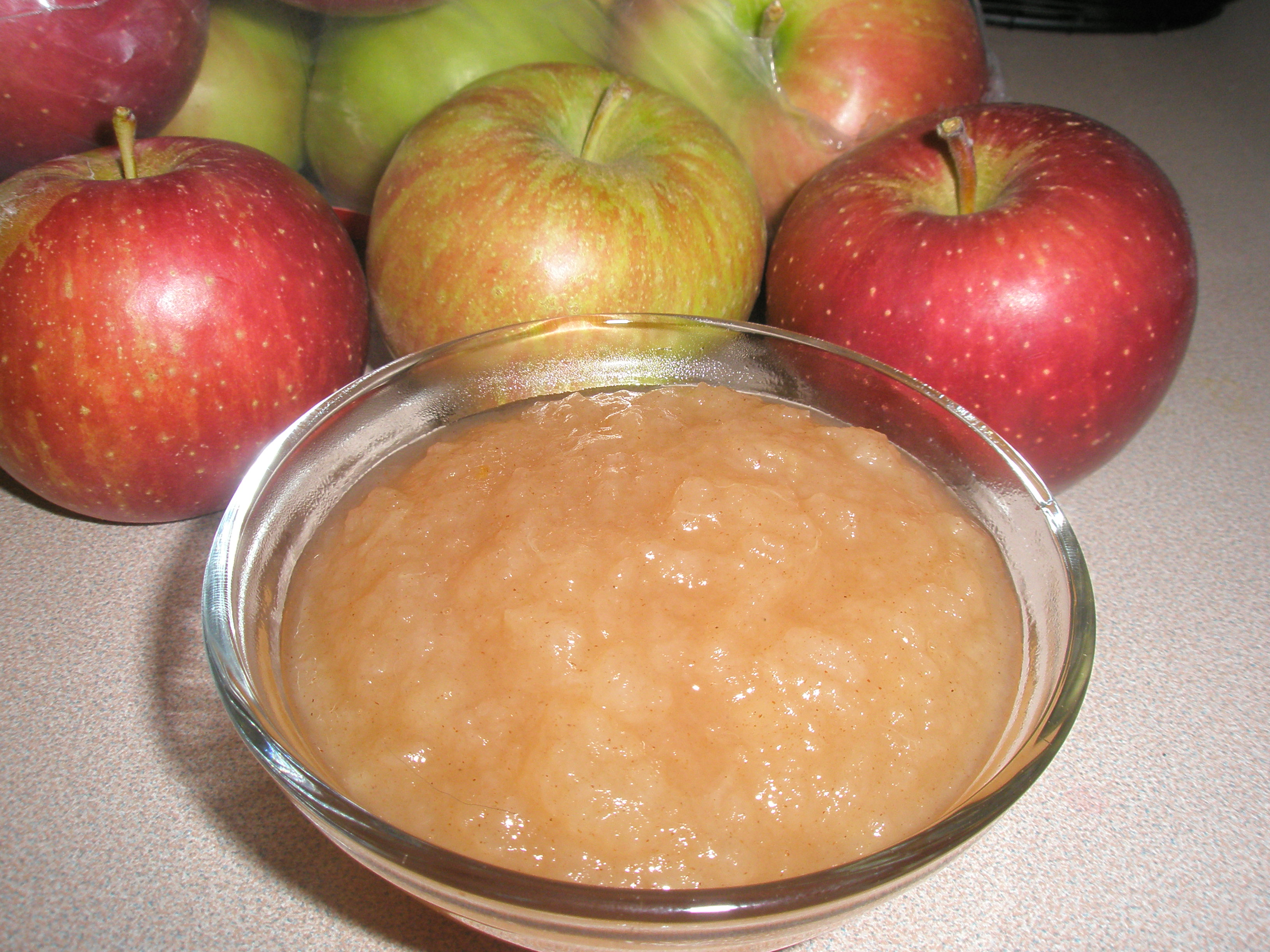 Как приготовить детское яблочное пюре.