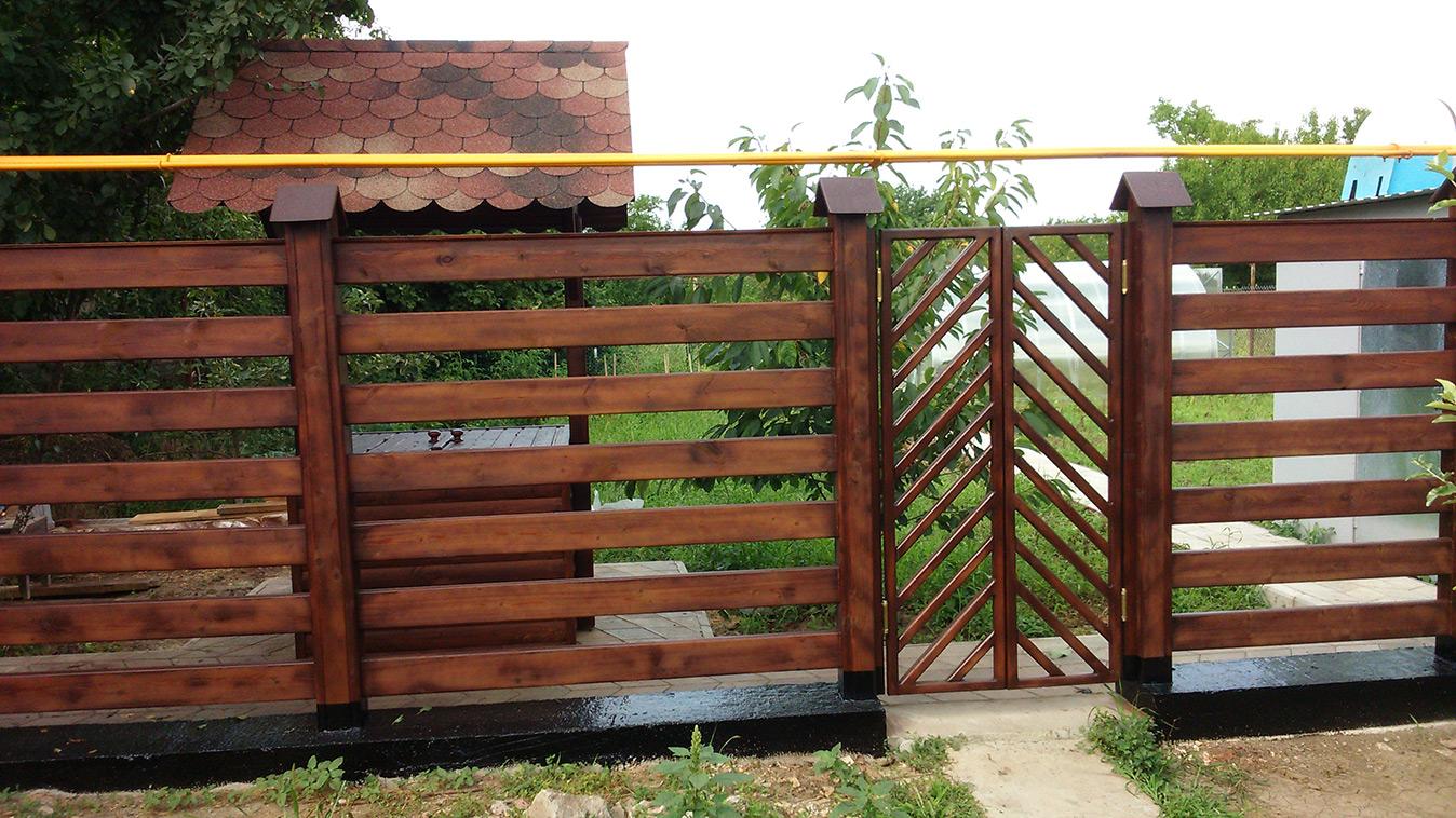 Забор из вагонки своими руками 35