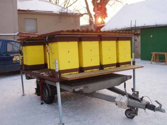 Как сделать прицеп для перевозки пчел своими руками