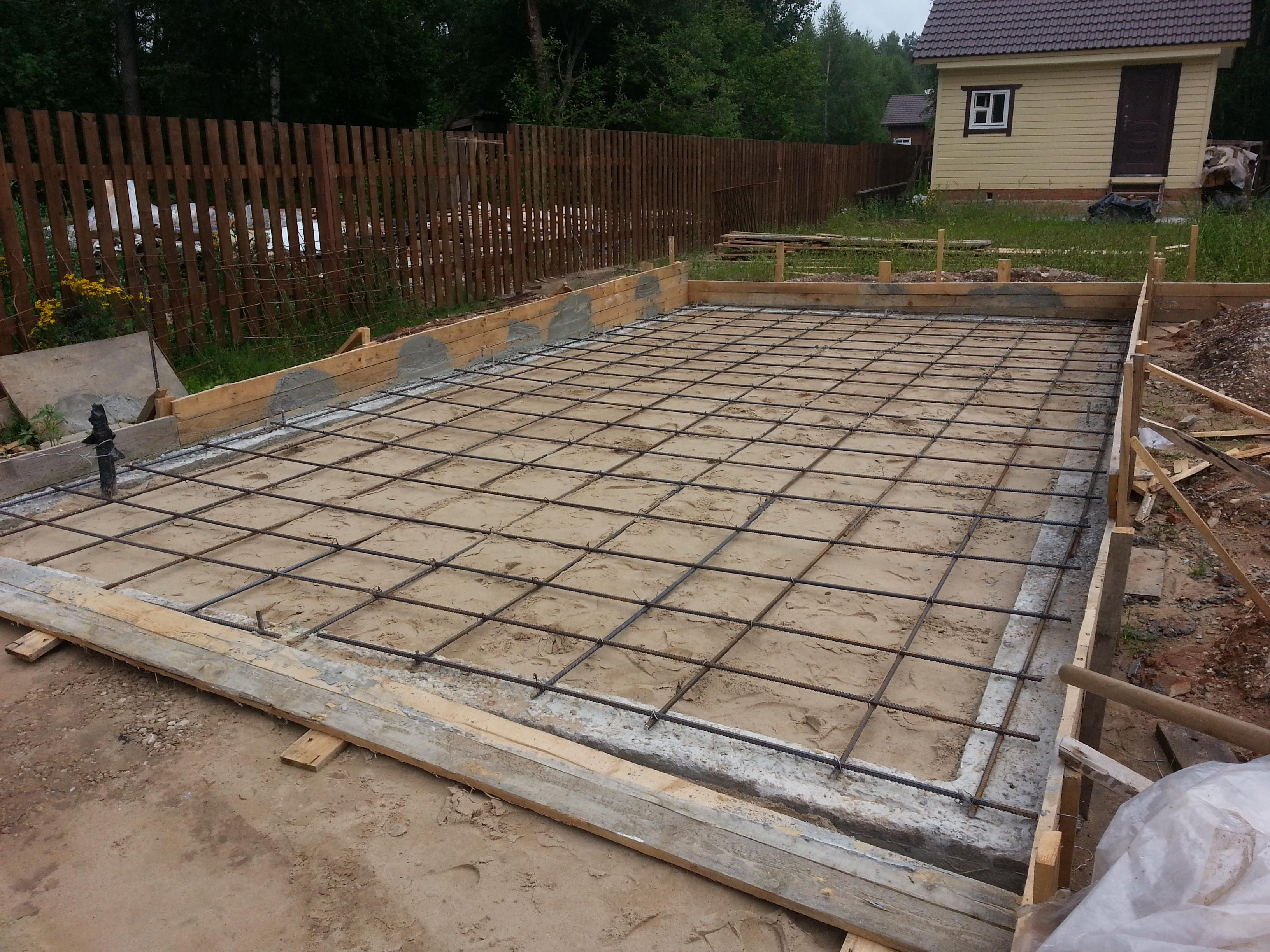 Строительство гаража из блоков своими руками
