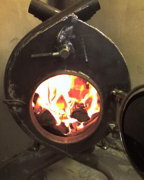 Как сделать печь из булерьяна 199