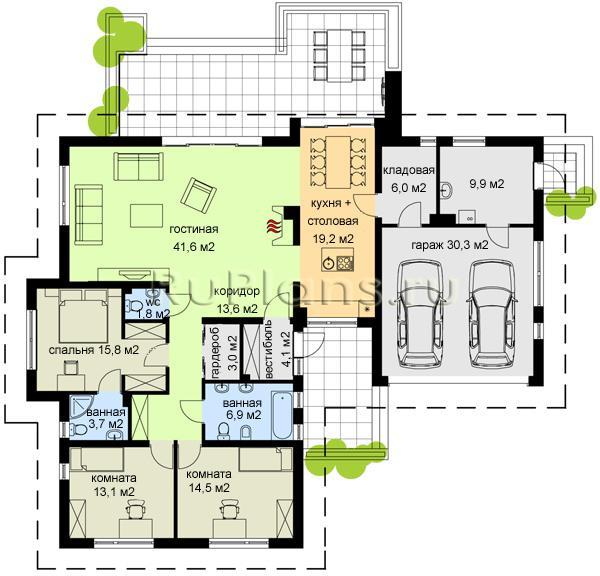 Фото интерьеров и планировок домов