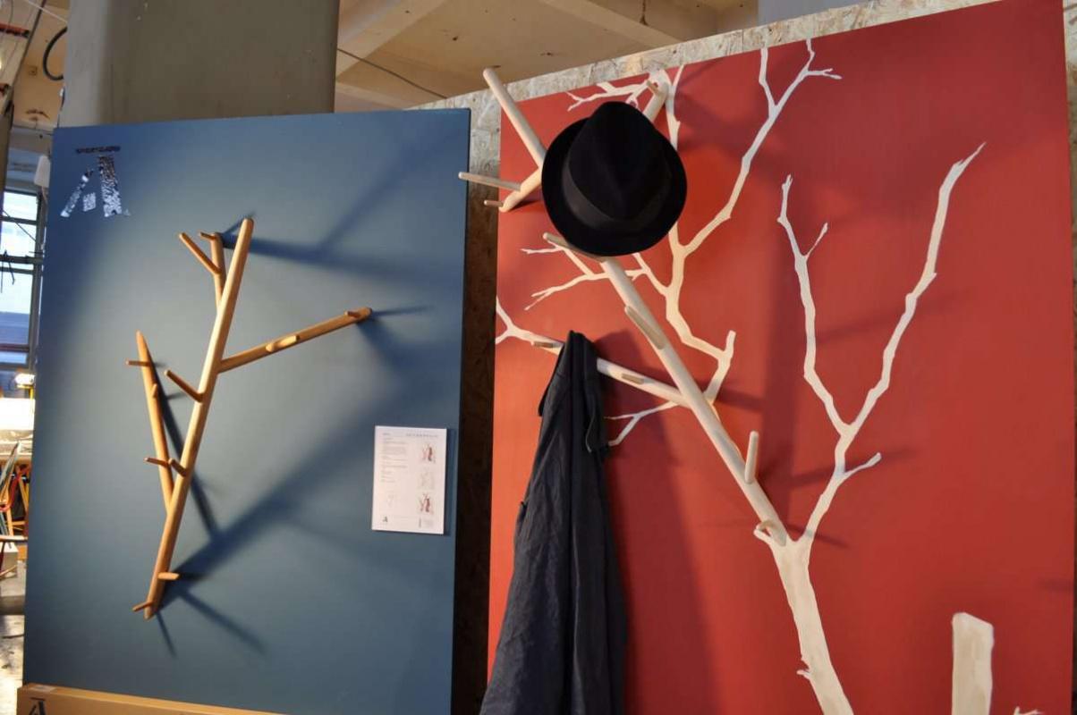 Как строить Вешалка дерево прихожую своими руками