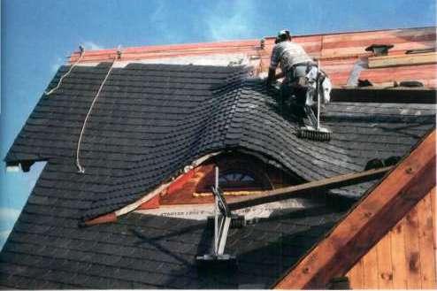 крыша на даче фото