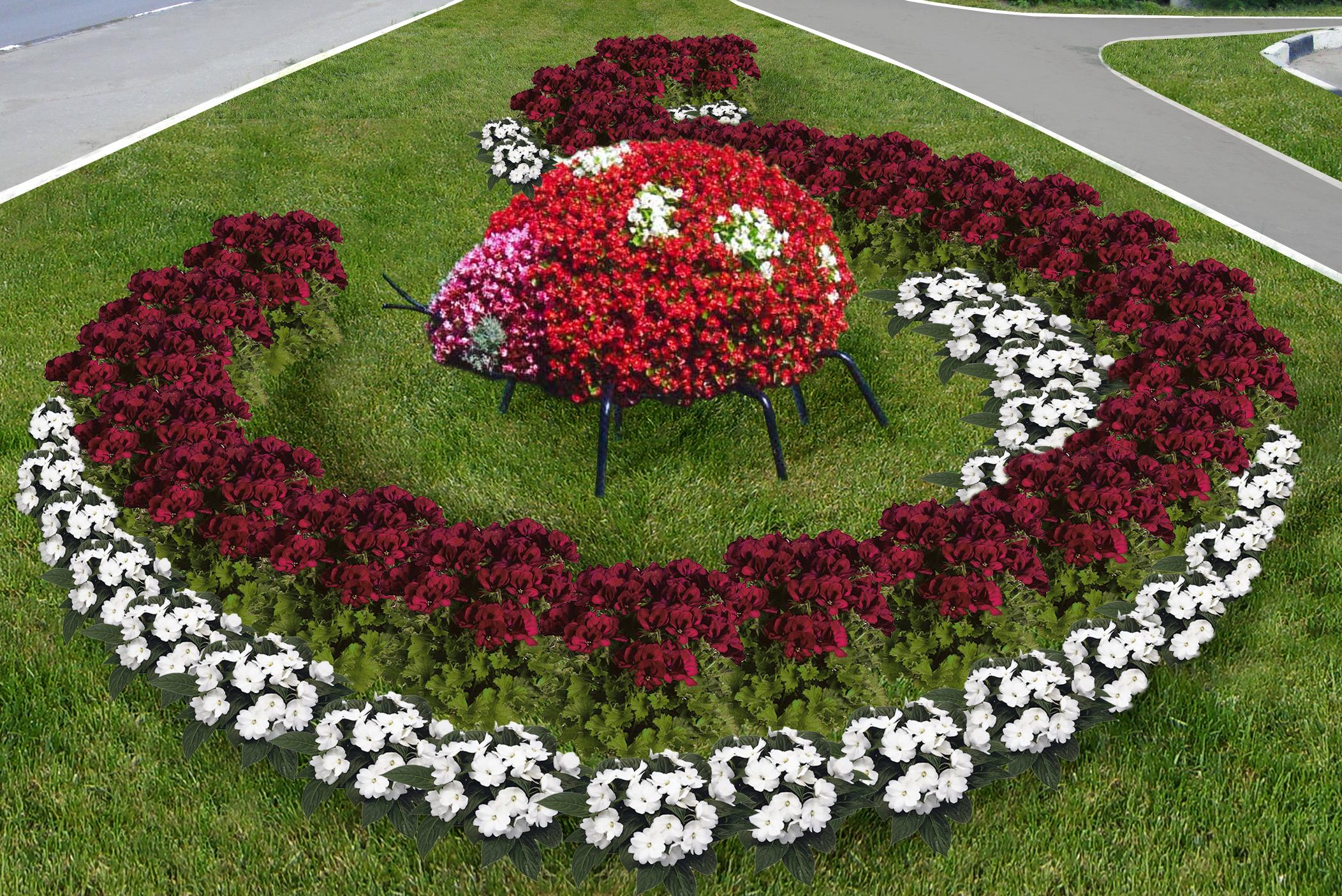 Положение на конкурс о цветочной клумбе