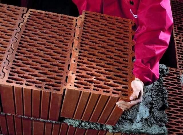 Керамические блоки дома своими руками