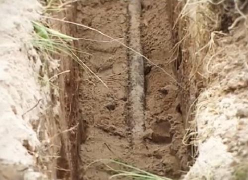 2_1 бронир кабель в земле