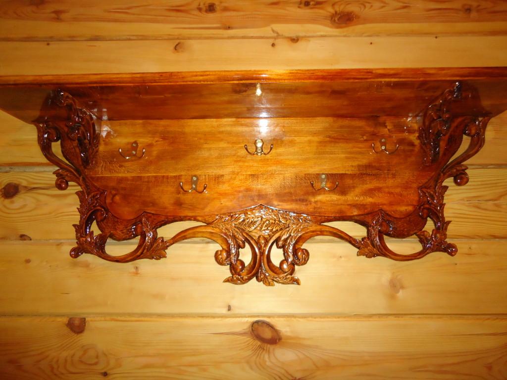 Изделия из дерева в доме своими руками
