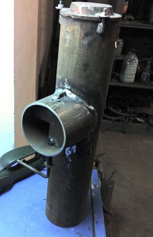 Как сделать металлическую дымовую трубу