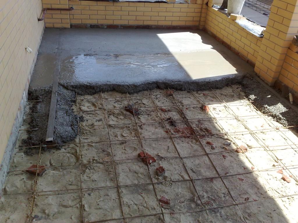 Как в квартире сделать бетонные полы