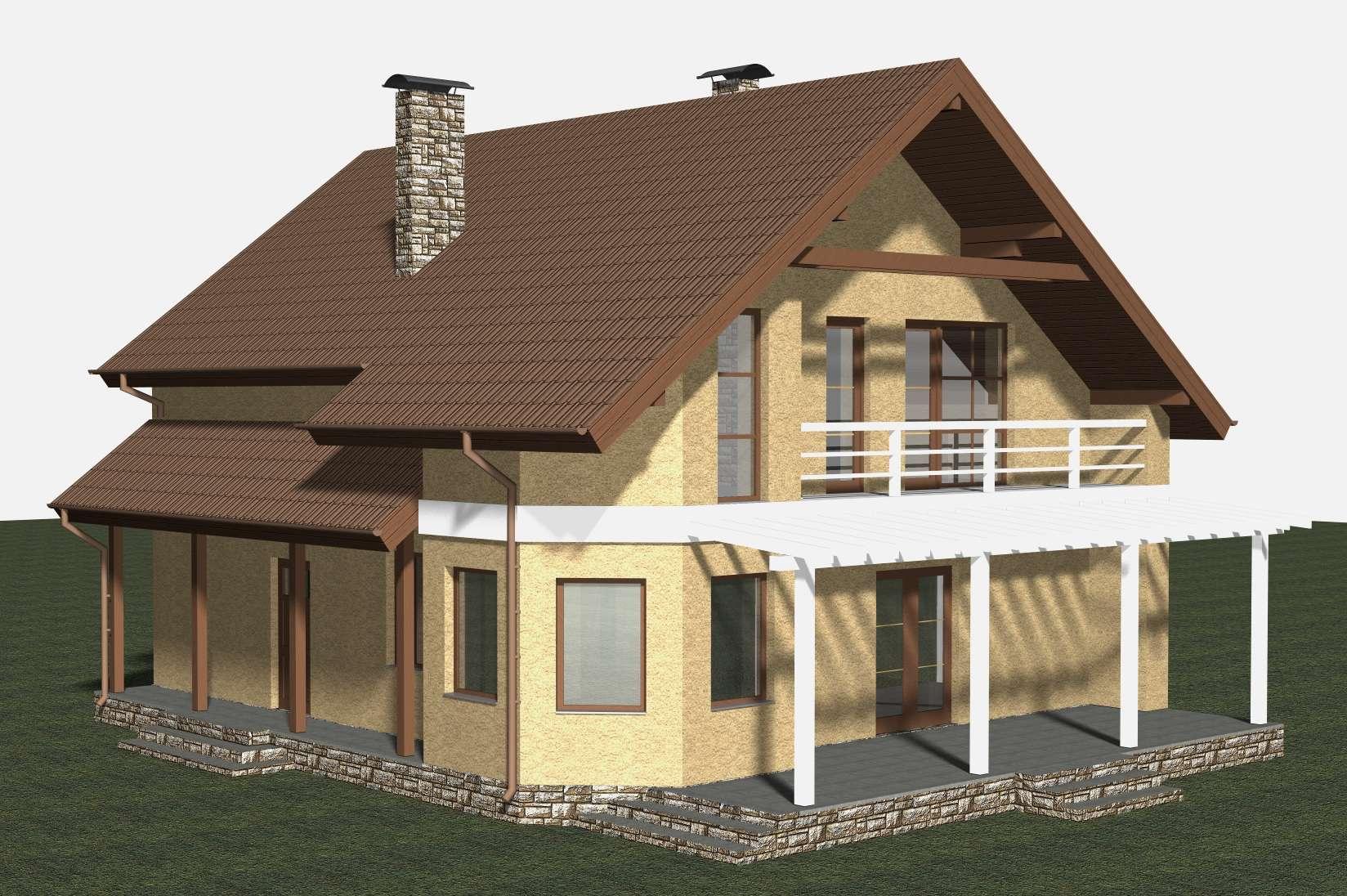 Проект дома сделать своими руками