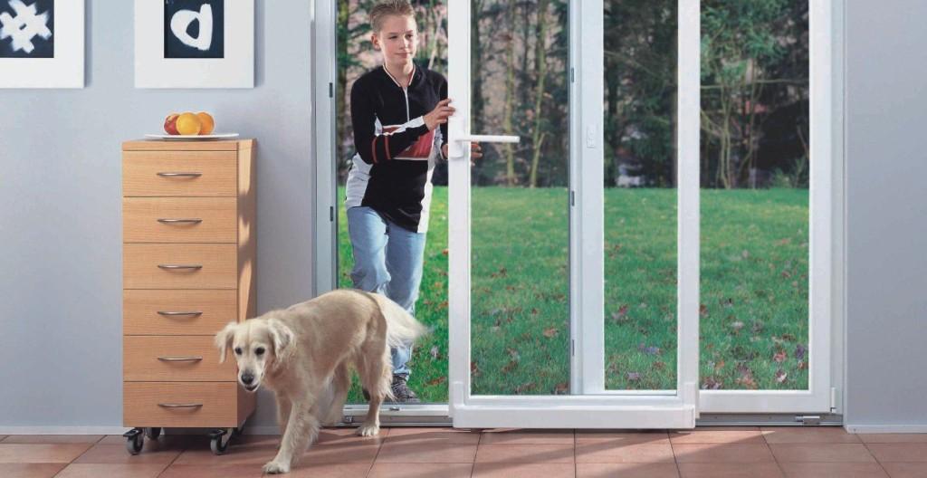 Стеклянные входные двери для частного дома: фото, практичнос.