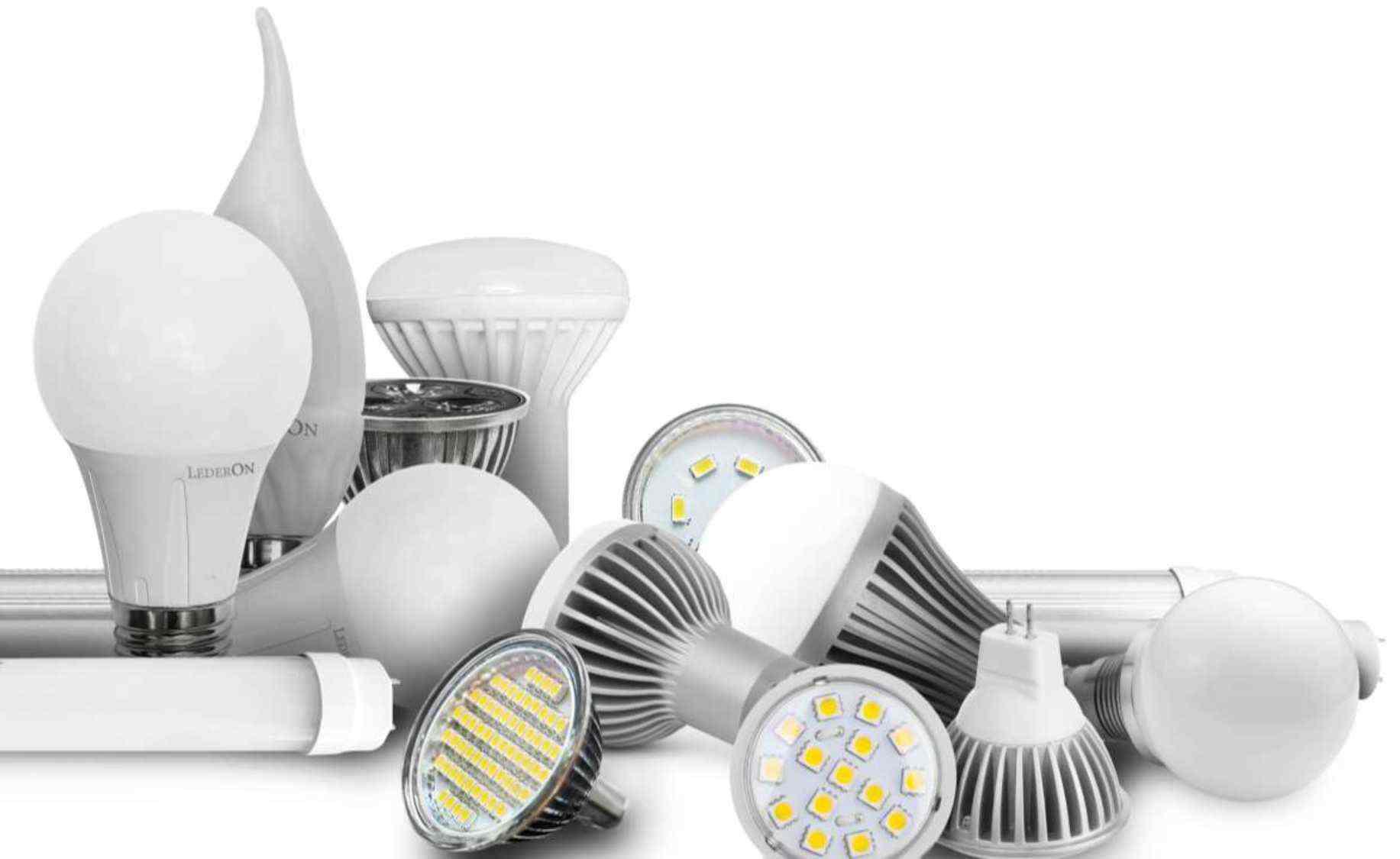 Светодиодные светильники уличной подсветки