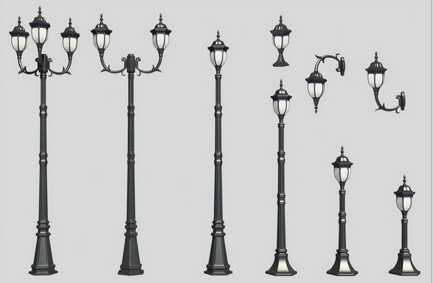 Светильники в светодиодные уличные