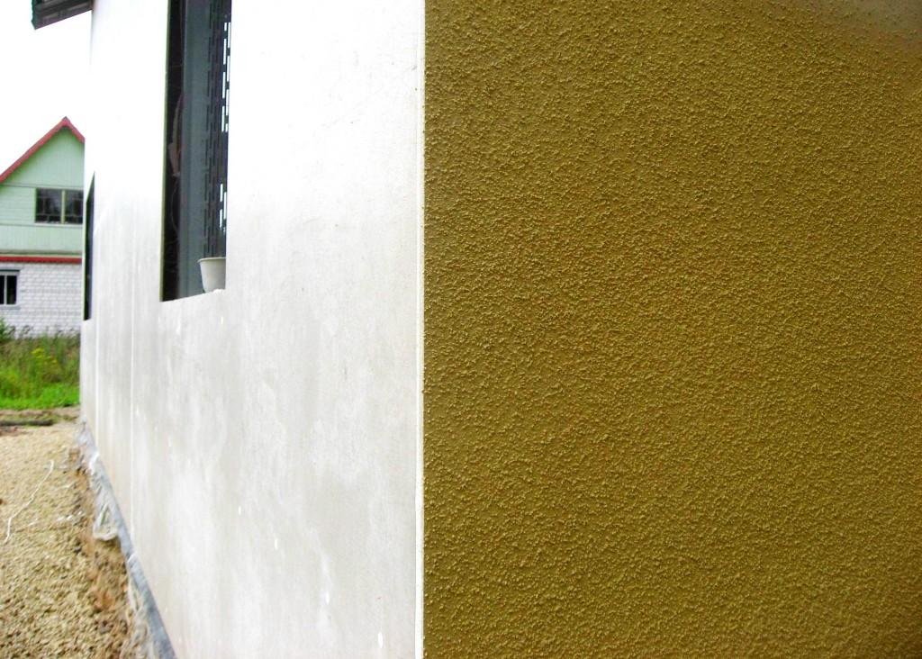 Декоративная штукатурка для фасадов своими руками 91