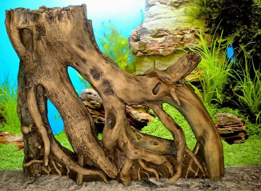 Грот из дерева своими руками