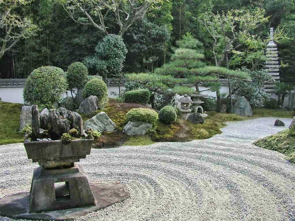 деталь японского оформления вертикального сада схема