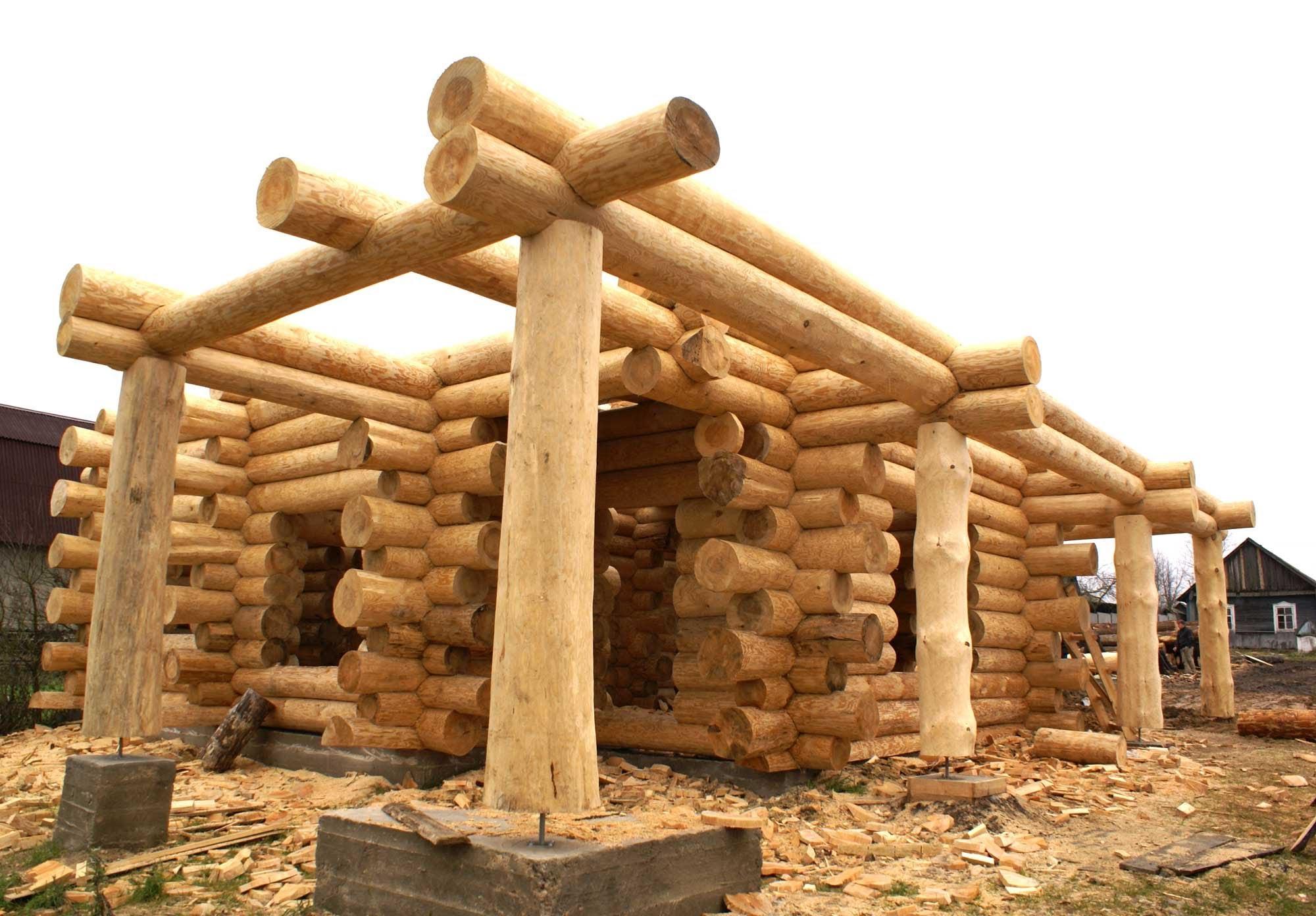 Строительство деревянные дома своими руками