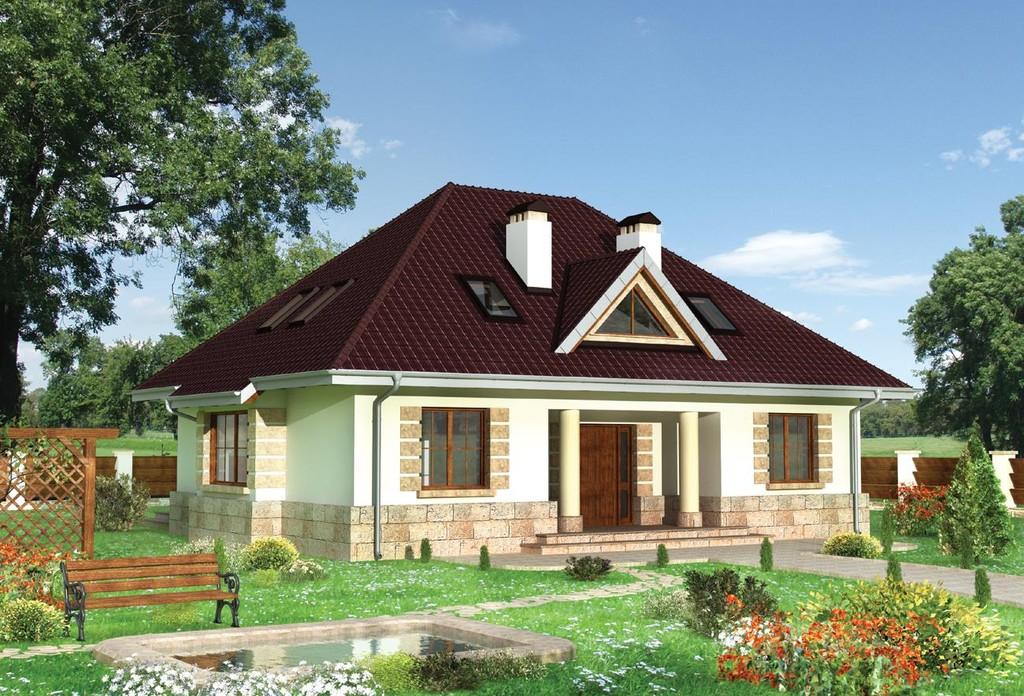 Проект крыш домов фото