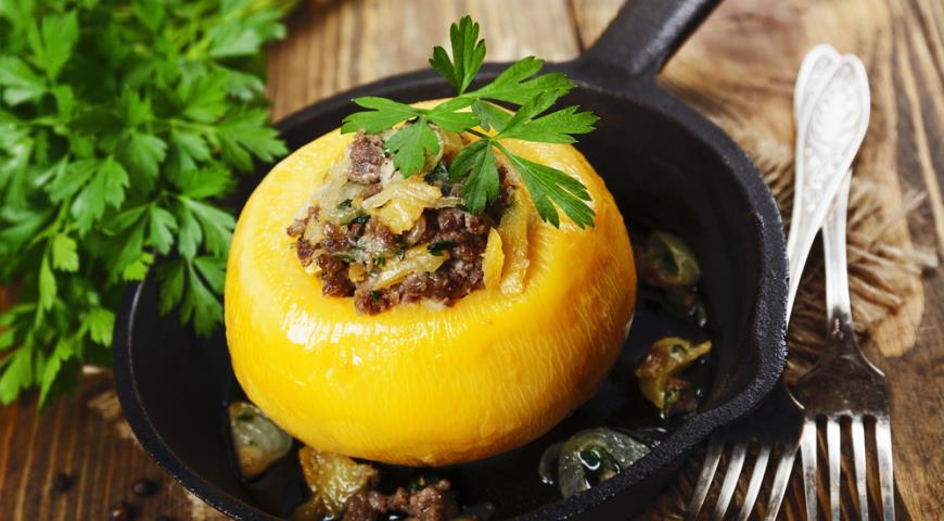 Блюда с репой и картошкой