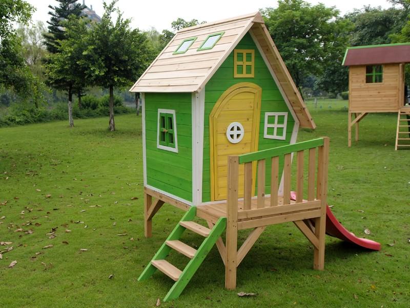 Детские домики для детей из дерева