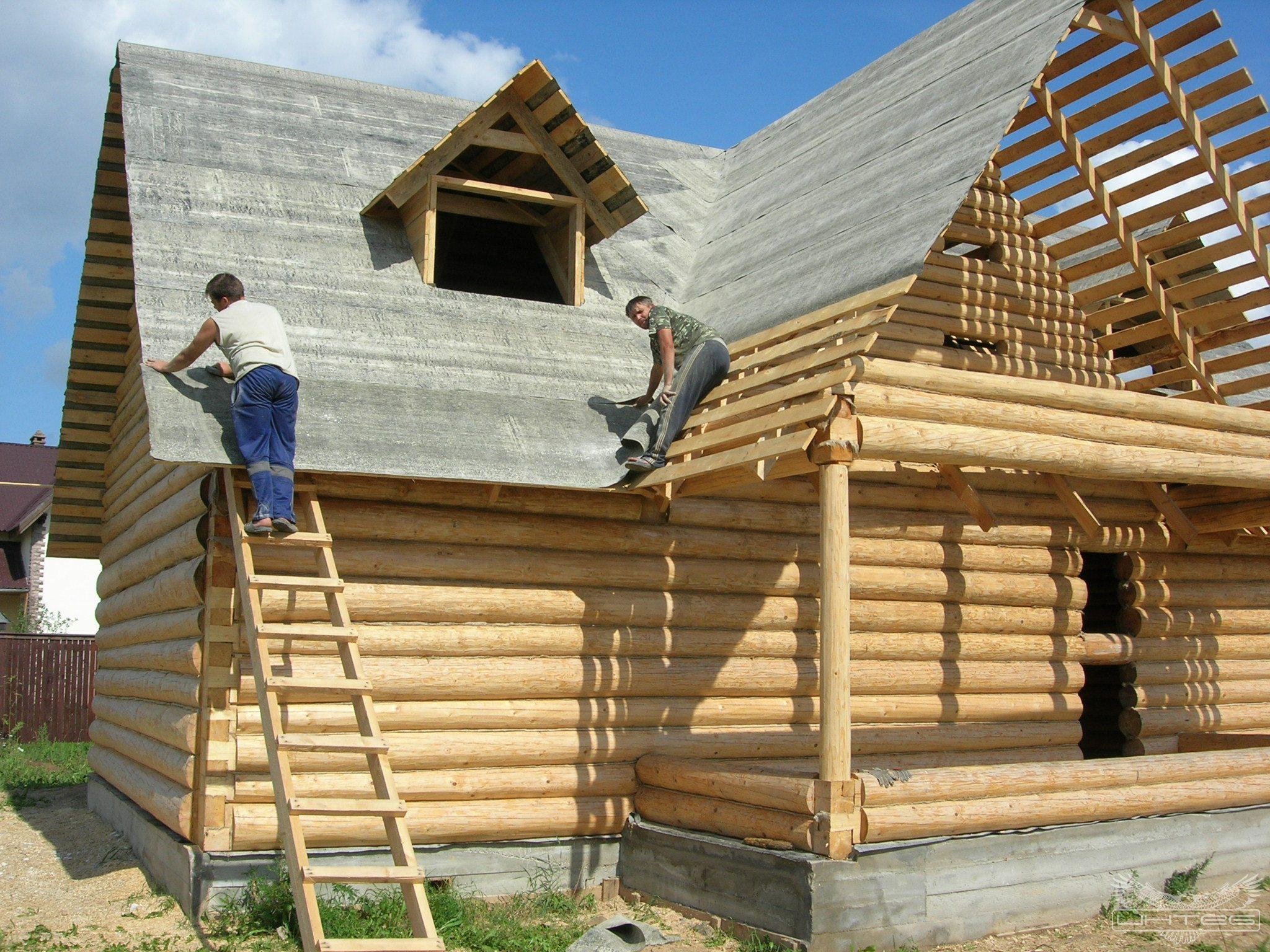 Строительство крыши деревянного дома своими руками