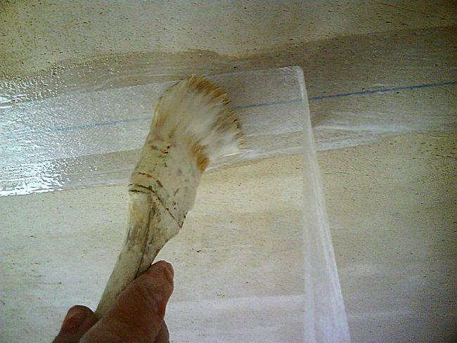 Утепление швов на профилированном брусе