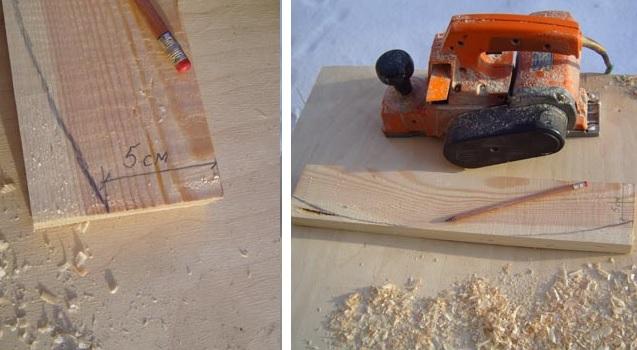 Как сделать лопату для снега своими руками быстро