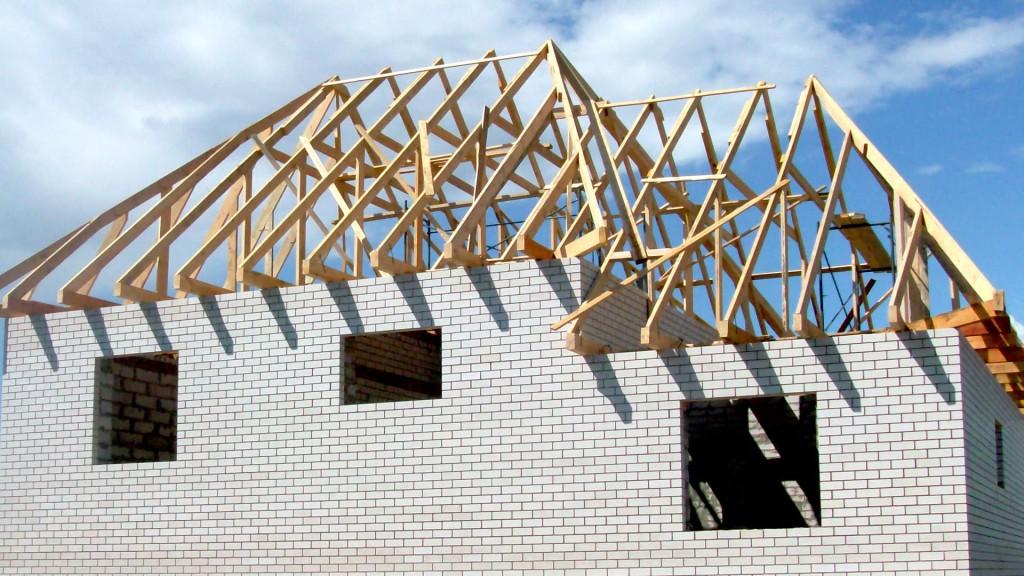 Четырехскатная мансардная крыша дома своими руками