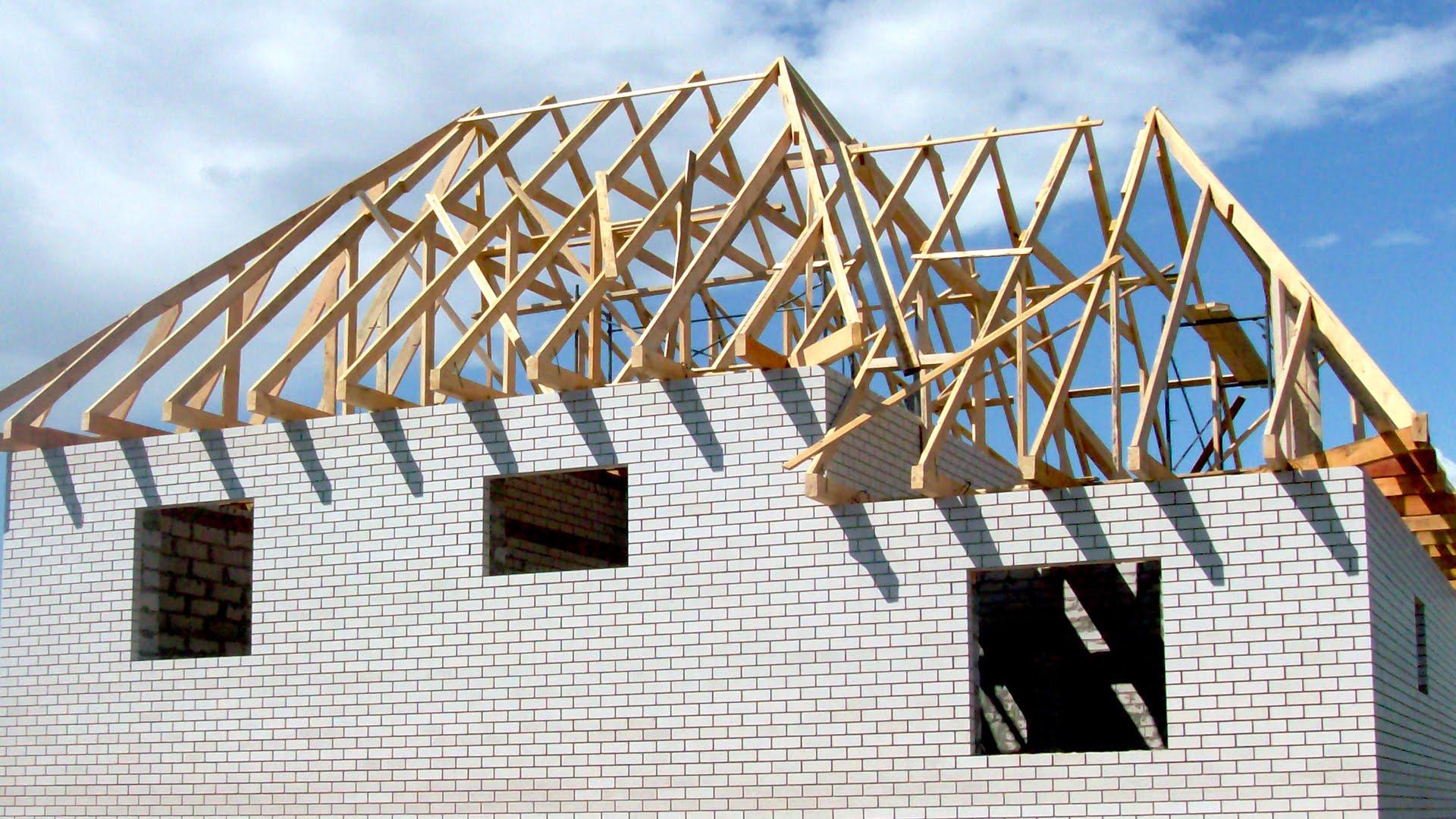 Сделать четырехскатную крышу на доме своими руками фото 97