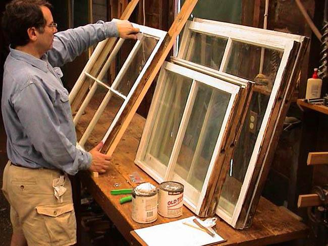 Ремонт старого деревянного окна своими руками