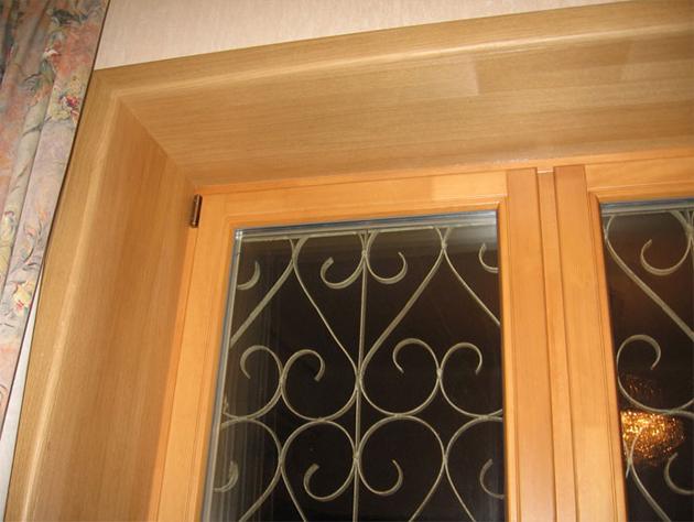 Откосы для окна из дерева как сделать