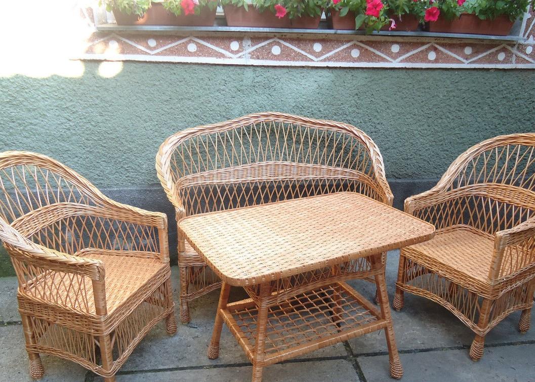 Плетеная мебель из лозы днепропетровск