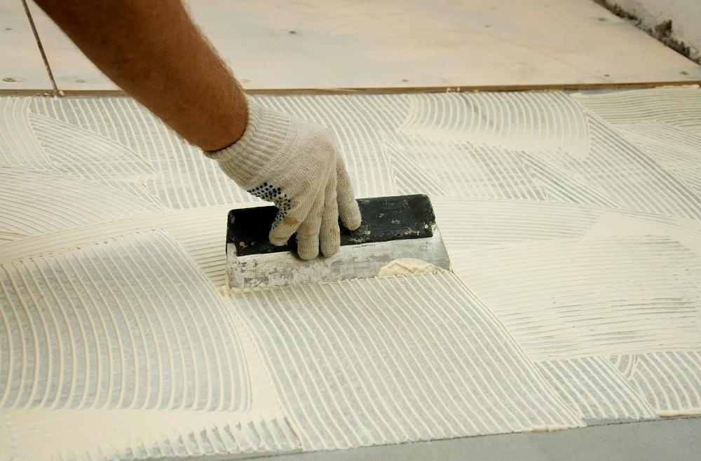 Пол из фанеры на бетон