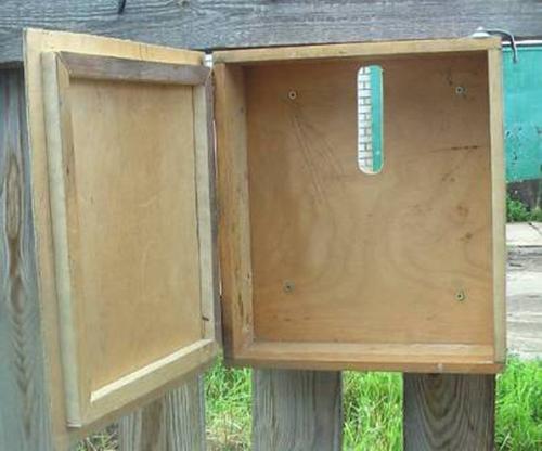 Как сделать своими руками почтовый ящик из коробки