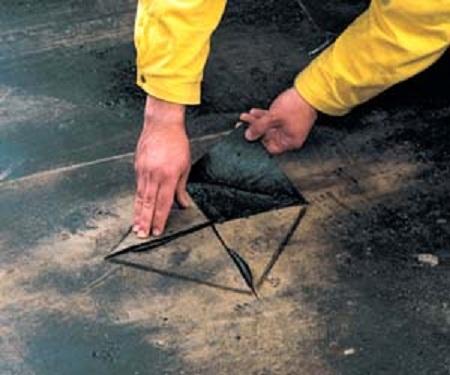 Перекрытие крыши рубероидом своими руками 70