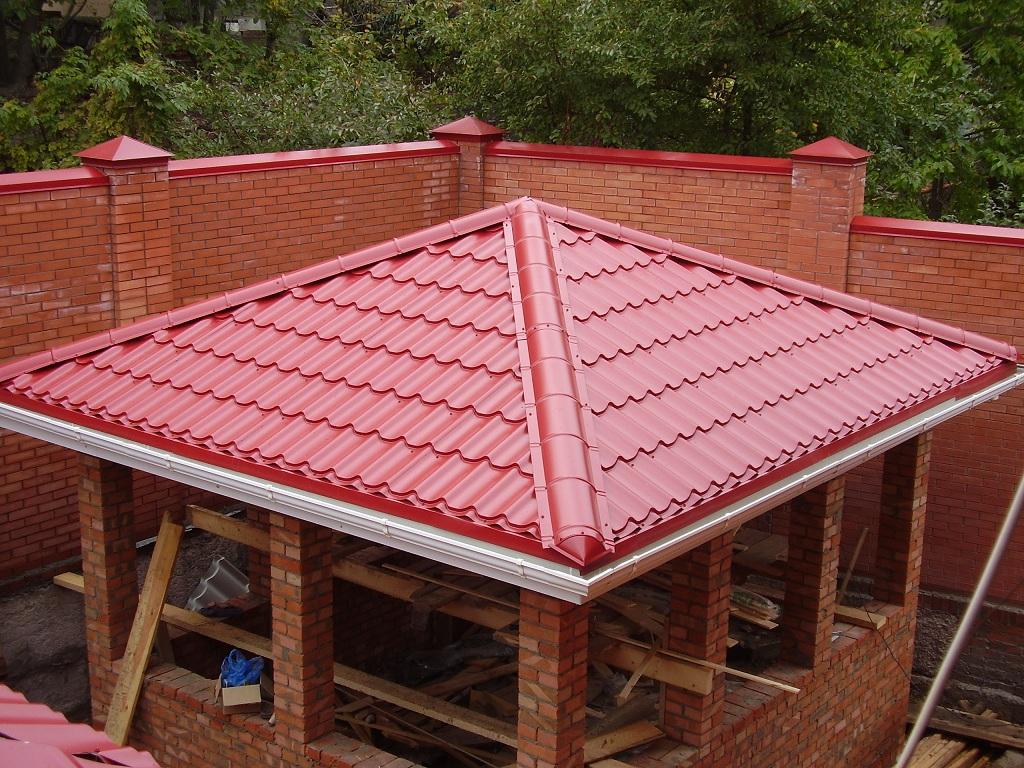 Как сделать четырехскатную крышу фото 498