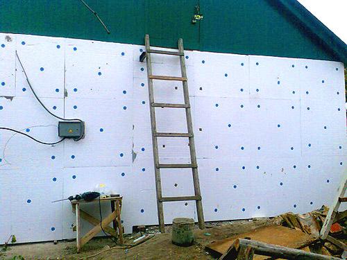Пенопласт для утепления стен снаружи своими руками