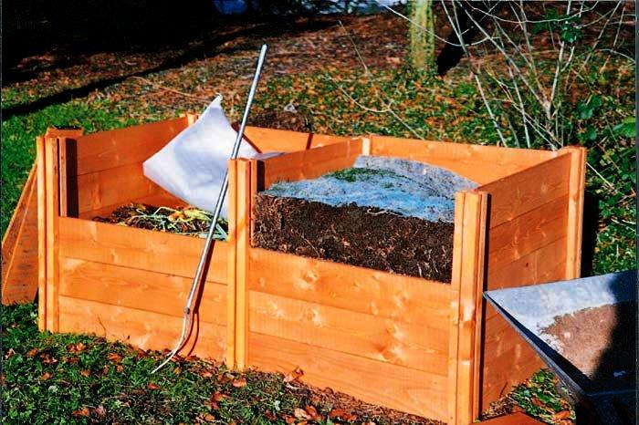 Изготовление своими руками ящика для компоста