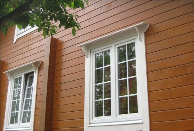 Montáž drevených okien