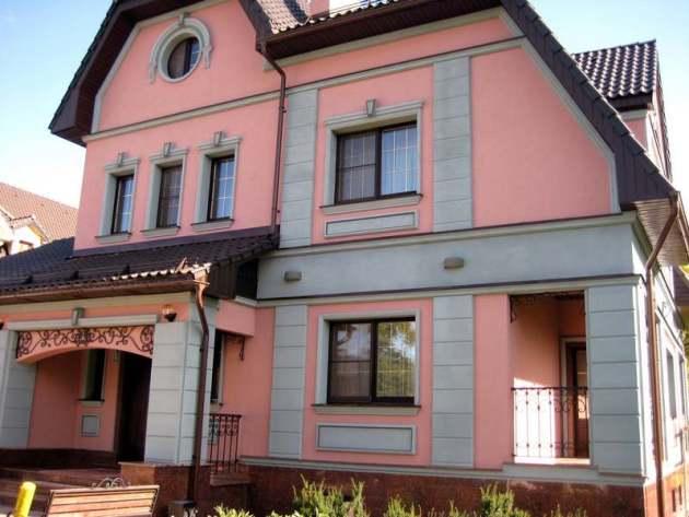 Смеси для отделки фасадов домов